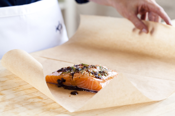 A new farmed salmon. (Photo courtesy of Verlasso)