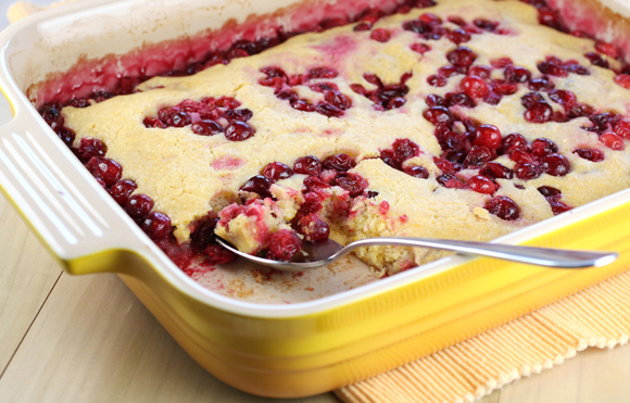 Cranberry cake to make any day a holiday.