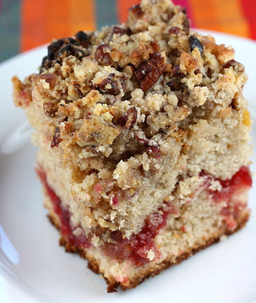 And: Cranberry Coffee Cake