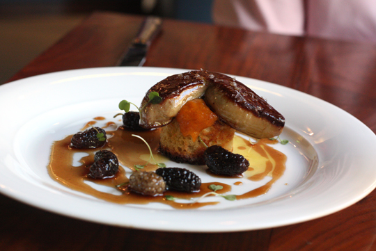 Come July 1, this foie gras dish will no longer be on the menu.