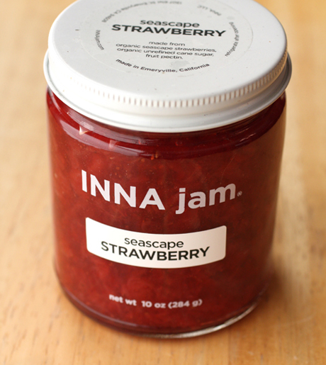 Artisan strawberry jam by Inna Jam.