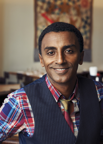 Learn about Chef Marcus Samuelsson's incredible culinary journey. (Photo by Kwaku Alston).
