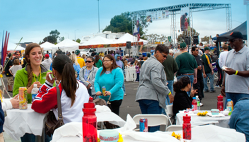 The crowd from last year's event. (Photo courtesy of the Bay Area BBQ Championship)