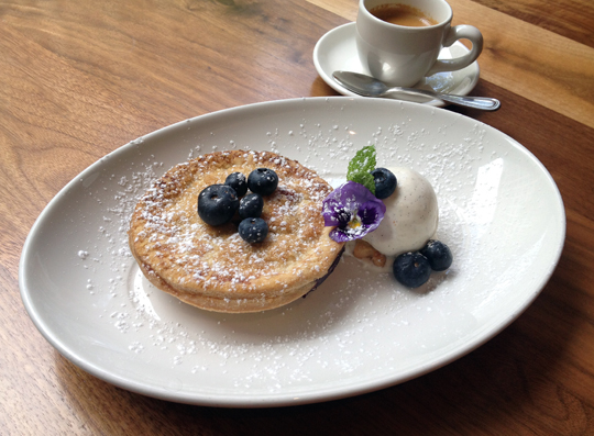 "Perfect for one -- ""Happy Camper Pie'' at Bluestem Brasserie. (Photo courtesy of the restaurant)"