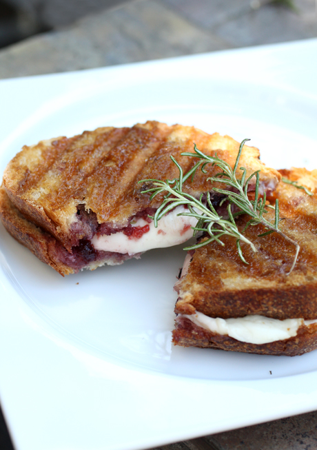 A perfect sweet-savory panini by Giada De Laurentiis.