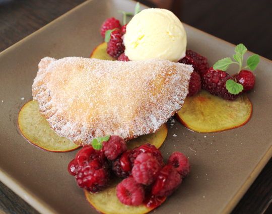 Crisp peach fry pie at Prospect restaurant. (Photo courtesy of the restaurant)