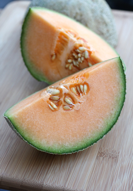 Yes, you can bake with cantaloupe. Who knew!