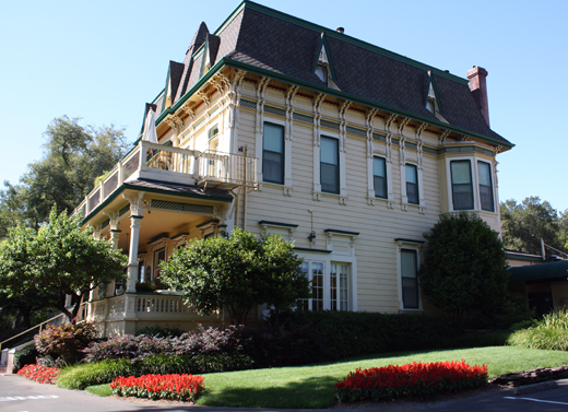 The historic Madrona Manor.