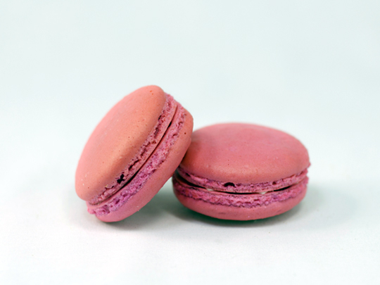 Raspberry macarons. (Photo courtesy of Sift Cupcake & Dessert Bar)