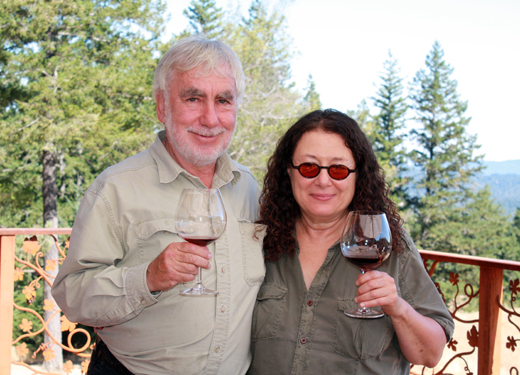 Owners Lester and Linda Schwartz, originally from South Africa.