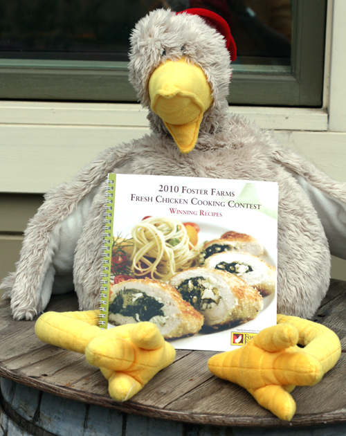 "What would a Foster Farms event be without a ""Foster Imposter''? (Photo by Carolyn Jung)"