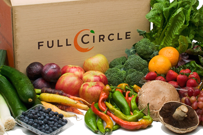Produce delivered to your door. (Photo courtesy of Full Circle)