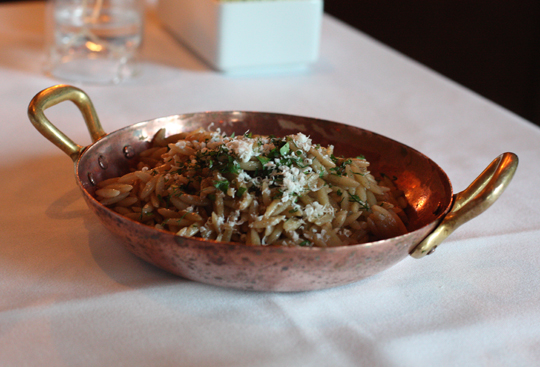 An orzo side dish you'll want to copy at home.