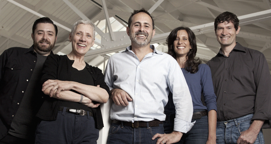 The team behind the new San Francisco Cooking School: (left to right) Bill Corbett, Catherine Pantsios, Craig Stoll, Jodi Liano and Daniel Patterson. (Photo courtesy of the school)