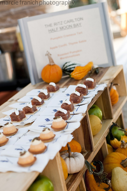 A scrumptious look at last year's FallFest. (Photo by Marcie Franich Photography)