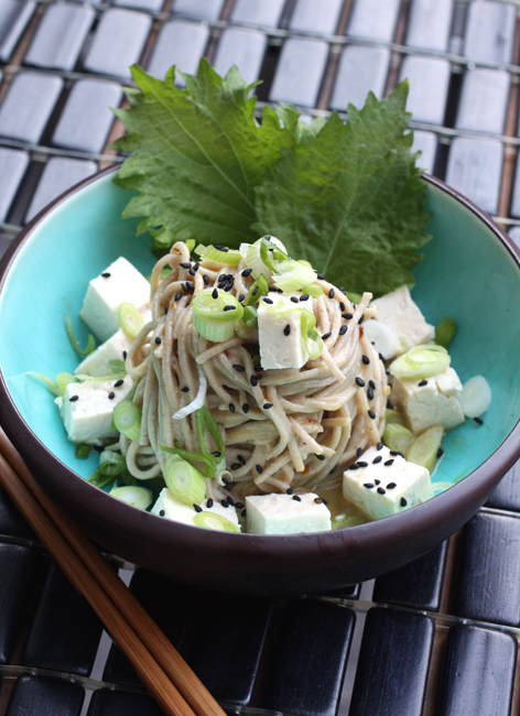 Dig your chopsticks into Susan Feniger's light, bright soba salad.