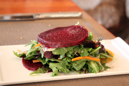 A simple beet salad.