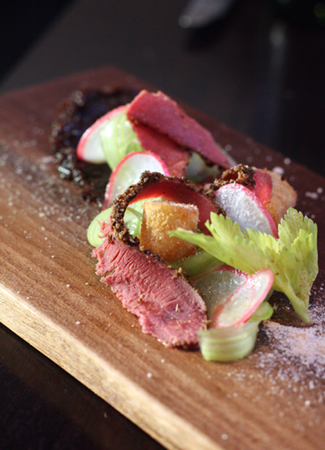 Veal tongue that tastes like your favorite pastrami -- at SPQR.