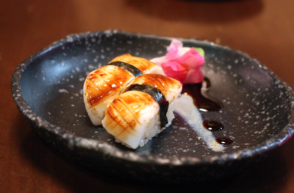 Bushido's very clever sushi. Can you guess what it is?