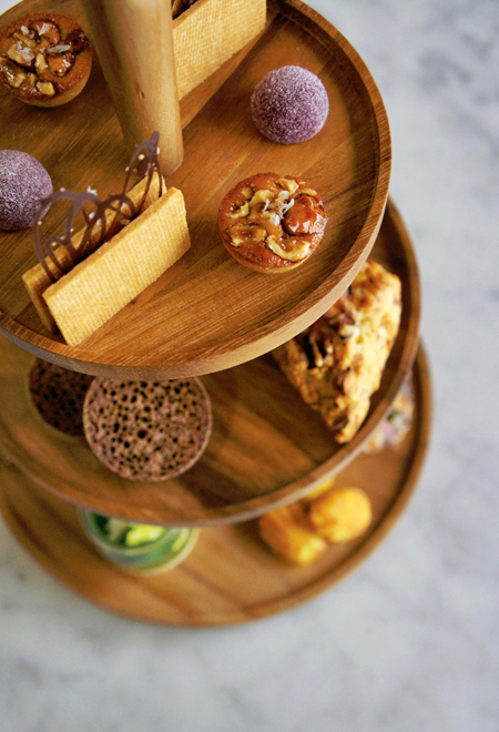 Not your ordinary afternoon tea at Craftsman and Wolves. (Photo by William Werner)