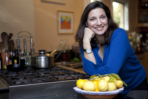 Cookbook author Diane Kochilas. (Photo by Yiorgos Vitsaras)