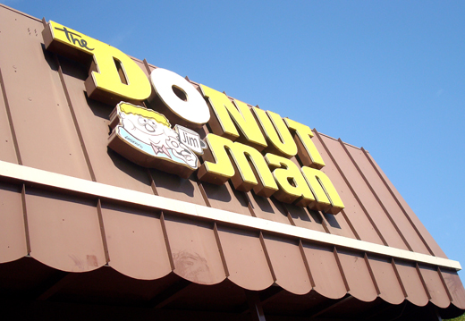 Get thee to the Donut Man. Pronto!