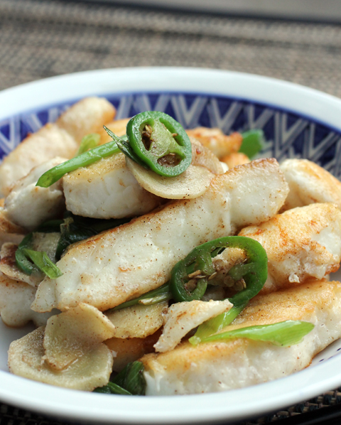 Dig in with your chopsticks to this succulent five-spice flavored halibut.