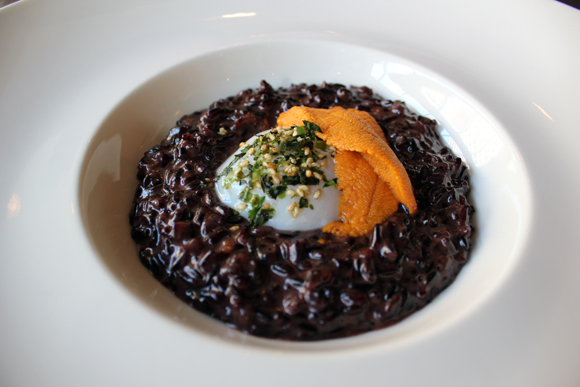 Do you think of the SF Giants when you look at this risotto dish? You should! (Photo courtesy of Prospect restaurant)