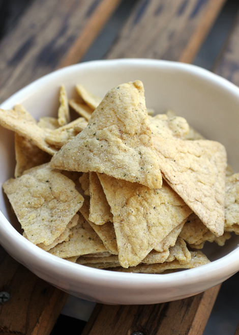 New Ranch tortilla chips from PopChips.