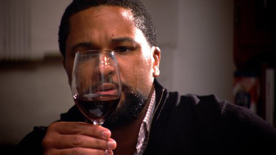 "One of the featured sommelier candidates from ""SOMM.'' (Still courtesy of the filmmakers)"