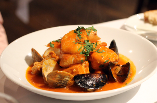 A hearty seafood stew.