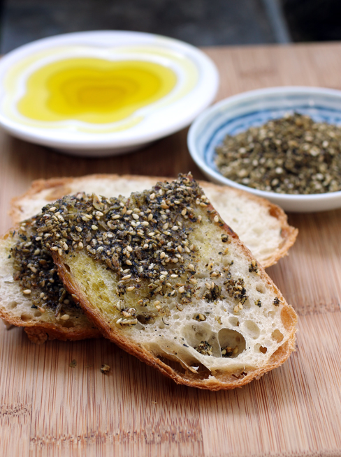 Savory Coconut Dukkah to dip your bread into.