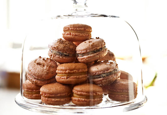 La Boulange's special holiday macarons. (Photo courtesy of the bakery)