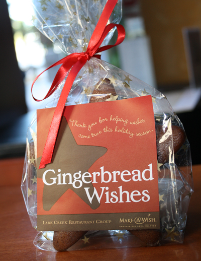 Gingerbread cookies for a good cause. (Photo courtesy of the Lark Creek Restaurant Group)