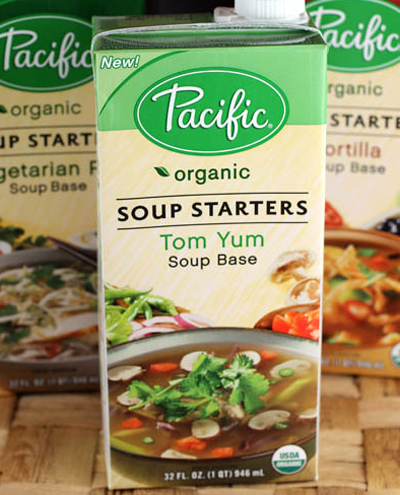 The winners will enjoy: Tom Yum, Tortilla, and Vegetarian Pho soup bases. (Photo by Carolyn Jung)