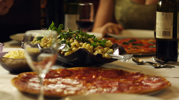 "A scene from ""Trattoria'' guaranteed to make you hungry. (Photo courtesy of the San Francisco Film Society)"
