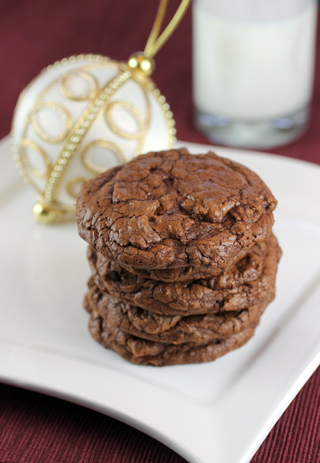 You won't believe how much chocolate is in these cookies.