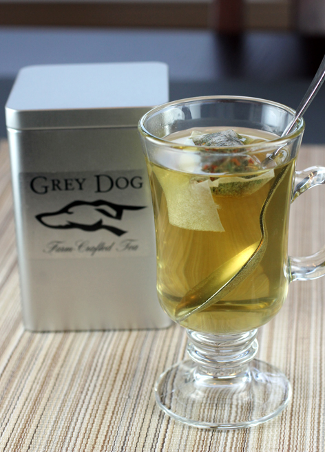 Take a sip of the unusual teas by Grey Dog Tea.