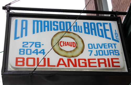 One of the most famous bagel shops in Montreal.