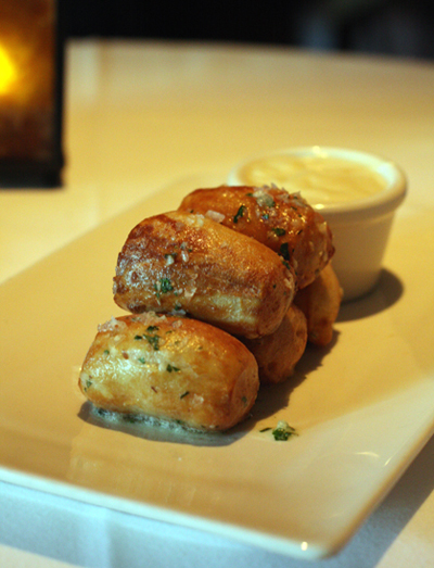 The pretzels you just won't be able to resist at Absinthe.