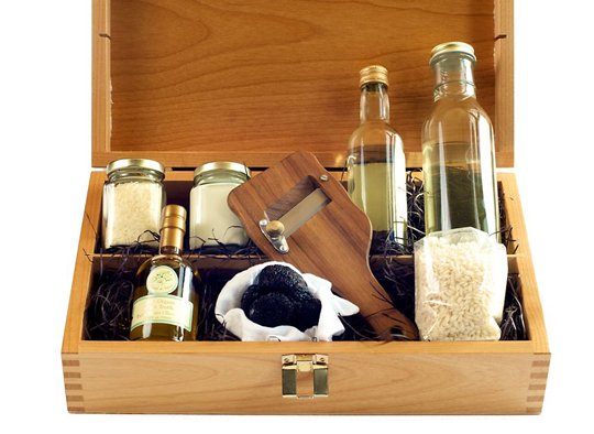 Truffle risotto kit for your gift-giving needs. (Photo courtesy of the Thomas Keller Restaurant Group)