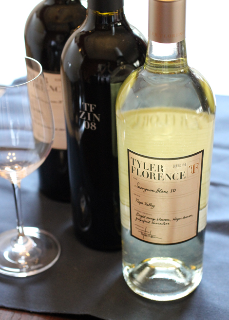 Tyler Florence debuts his own line of wines with the Michael Mondavi Family Estate. (Photo by Carolyn Jung)