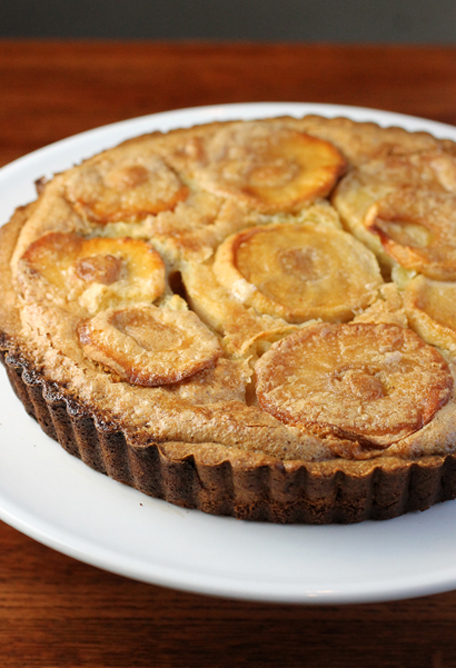 The apples are a supporting player in this tart. It's the butter that's the star.