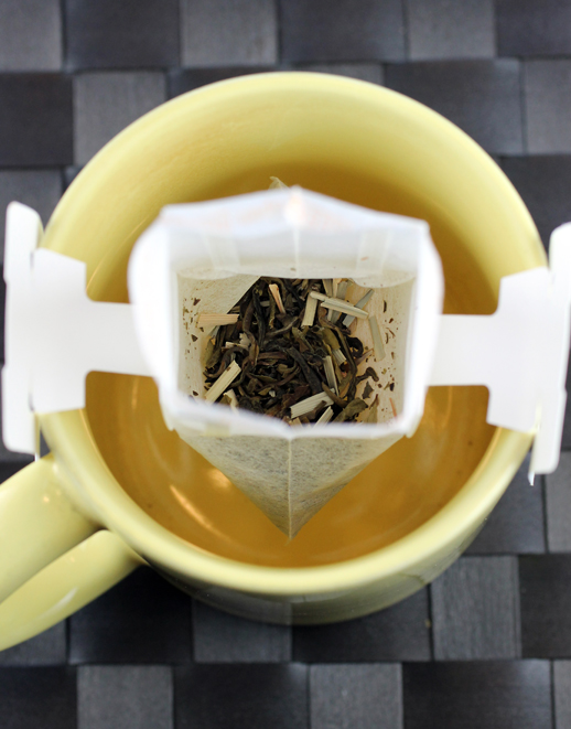 A new type of tea bag from Ineeka.