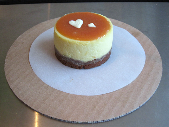 Passion fruit cheesecake. (Photo courtesy of Baker & Banker)