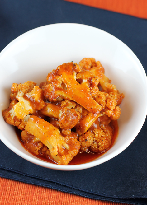 Ketchup and a host of spices make this easy cauliflower dish something special.