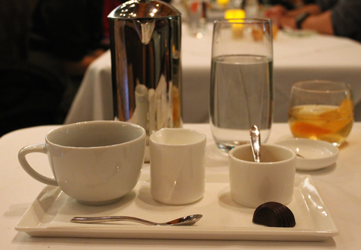 Coffee service with style.