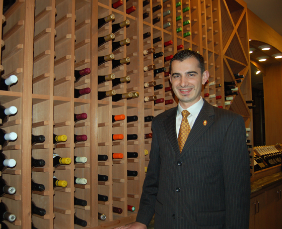 Roland Micu, the youngest certified Master Sommelier in the world. (Photo courtesy of the International Culinary Center in Campbell)