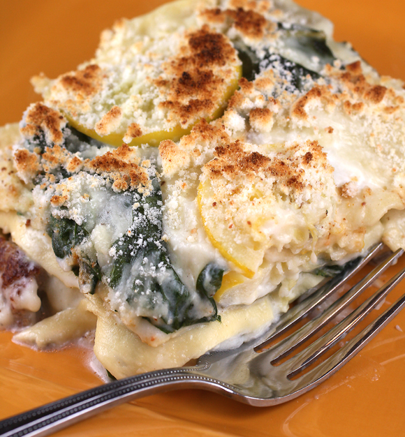 Sausage, Chard, And Lemon Lasagna Recipe — Dishmaps