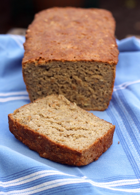 Fort Green Gluten Free bread mix -- just add water and a sweetener of your choice.